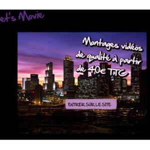 Let's Movie Montage Vidéos/photos de qualité