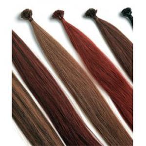 Pose d'extensions de cheveux à chaud