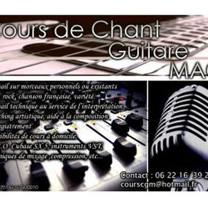 Cours de chant / Guitare / MAO
