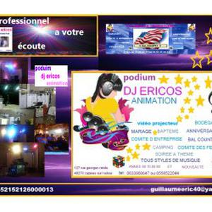 Photo de podium dj ericos animation