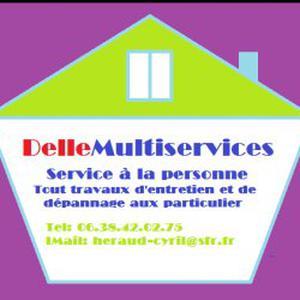 Service à la personne/entretien intèrieur et extèrieur