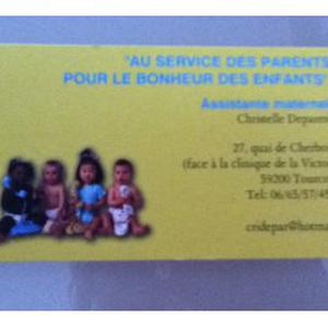 assistante maternelle tourcoing centre