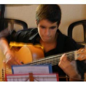 Cours de guitare classique par un étudiant
