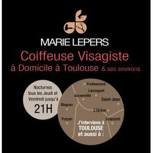 Marie lepers - Coiffure Domicile Toulouse