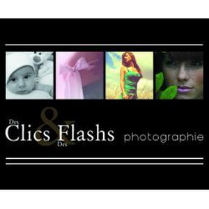 Photographe des clics et des flashs