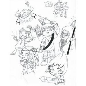 Cours de Dessin, Histoire de l'Art, Bande dessinée
